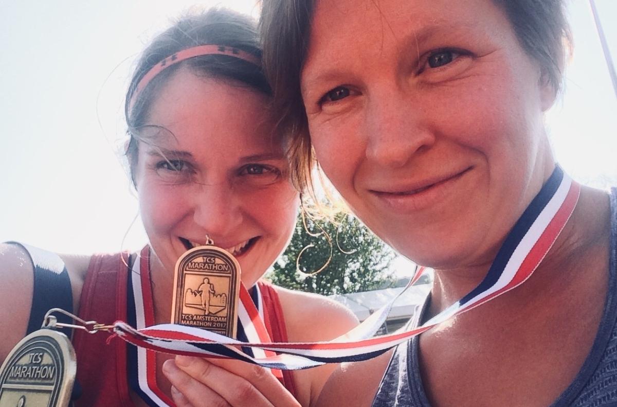 De race – Amsterdam marathon oktober2017