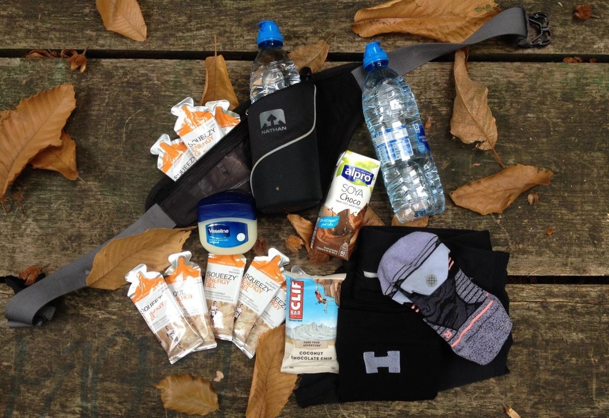 Het gerief – Mijn marathonessentials