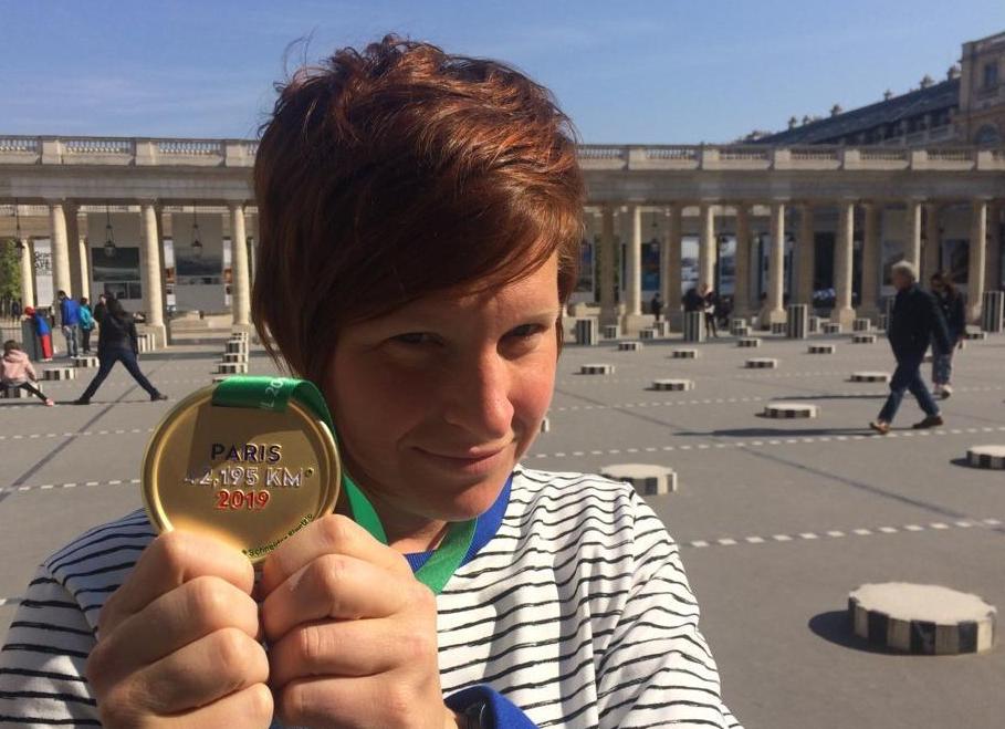 De race – Paris marathon april2019