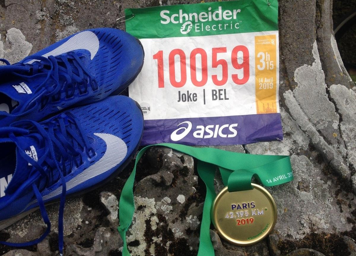 Waarom de marathon het mooiste atletieknummeris