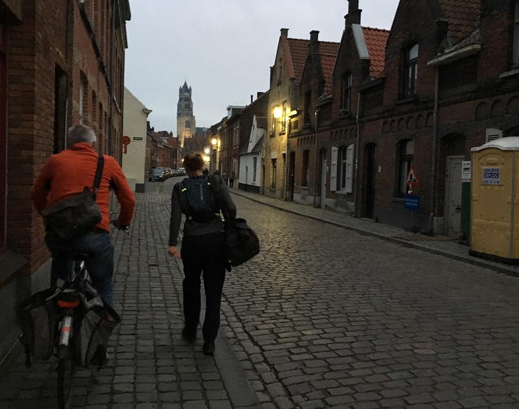 De race – Great Bruges Marathon oktober2019