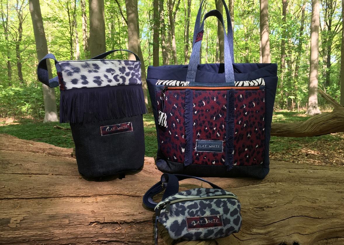 Het gerief – Een nieuwe lading tassen tussen debomen