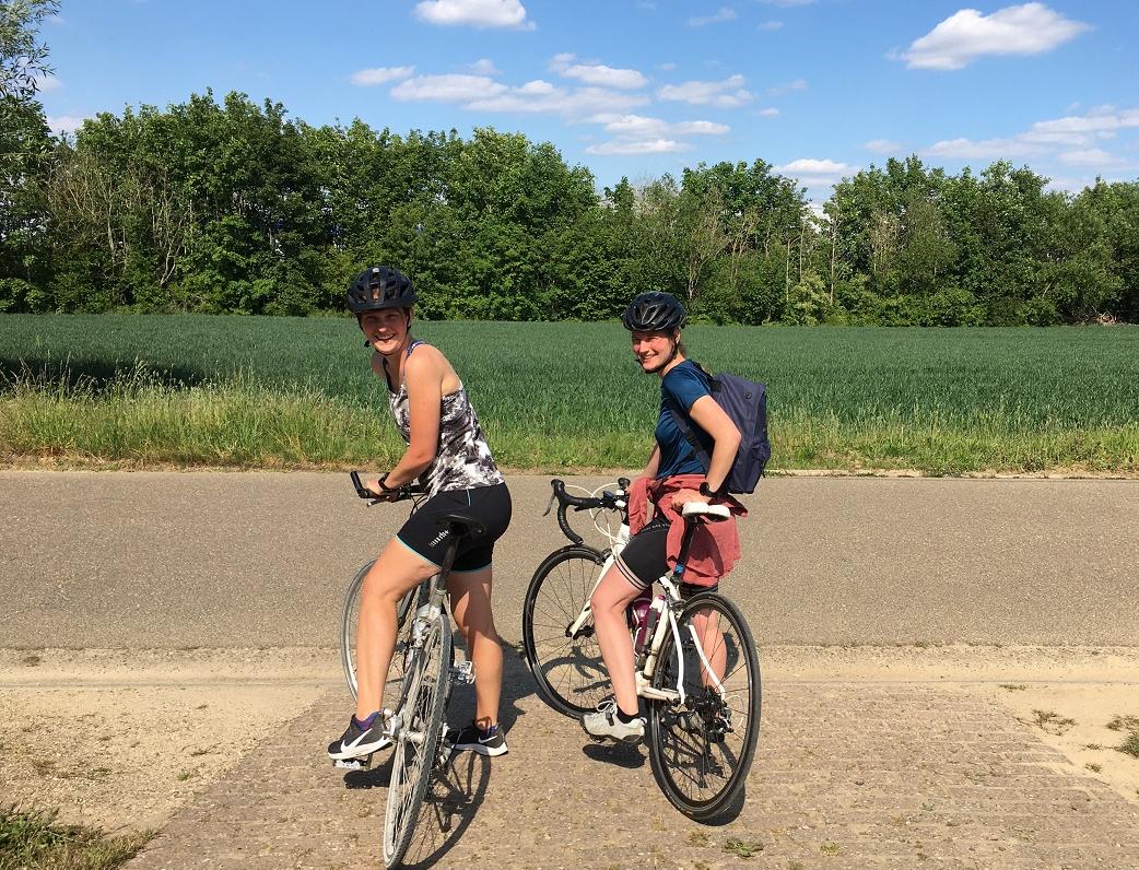 Loperspraat – Op de fiets metRoos