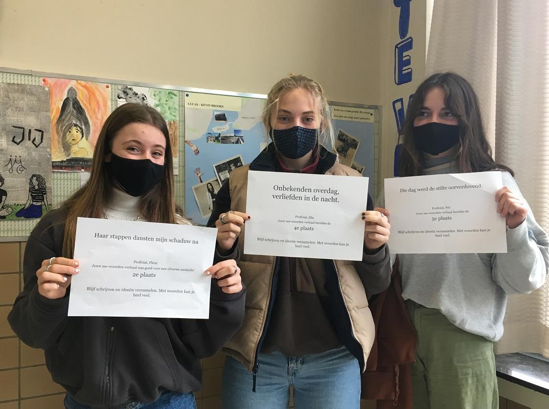 Het moment – Schrijftalent gespot in de klas#2